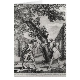Argument entre Jean-Jacques Rousseau Carte De Vœux