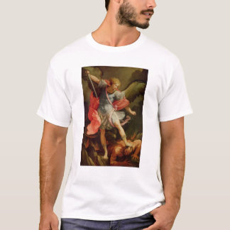 Arkhangel Michael défaisant Satan T-shirt