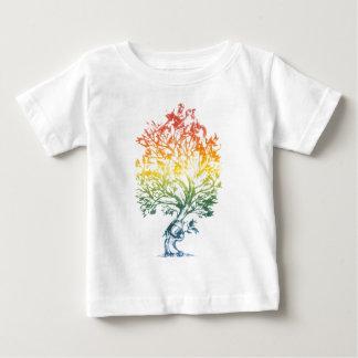 Arme à Feu-Arbre-Image T-shirt Pour Bébé