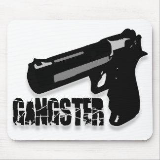 Arme à feu de bandits tapis de souris