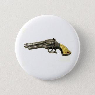 Arme à feu de jouet en métal badge