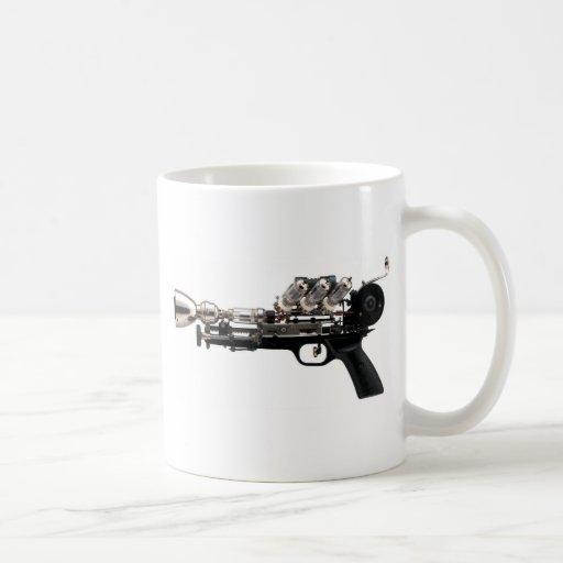 Arme à feu de Steampunk Tasses