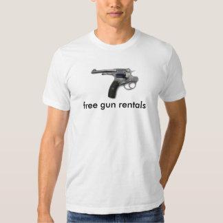 Arme à feu de suicide, locations gratuites d'arme t-shirt