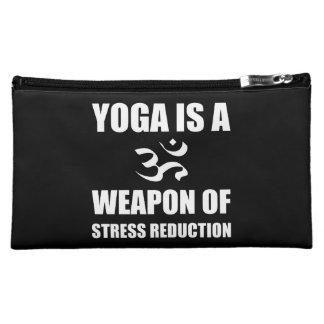 Arme de yoga de réduction du stress trousses à maquillage