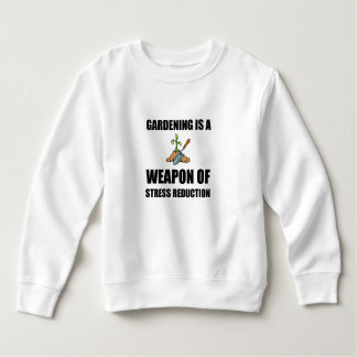 Arme du jardinage de réduction du stress sweatshirt