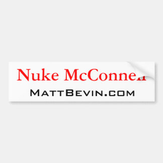 Arme nucléaire McConnell Autocollant De Voiture