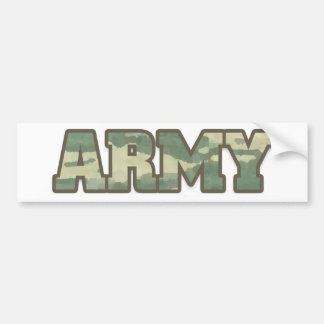 Armée dans Camo Autocollant De Voiture