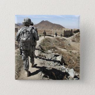 Armée nationale afghane et soldats des USA Badge
