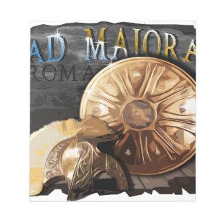 Armée romaine - légionnaire bloc-note