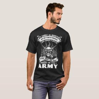 armée rouge de réservoir d'armée d'armée de ruban t-shirt