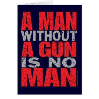 Armes à feu… carte de vœux
