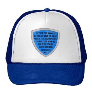 armure de casquette de Dieu