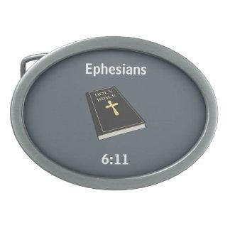Armure de la boucle de ceinture de Dieu w/Bible