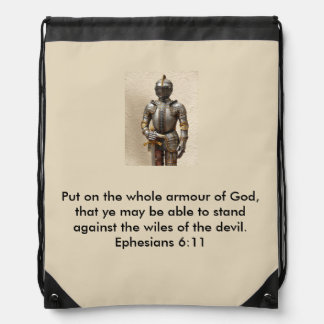 Armure de sac à dos de cordon de Dieu avec