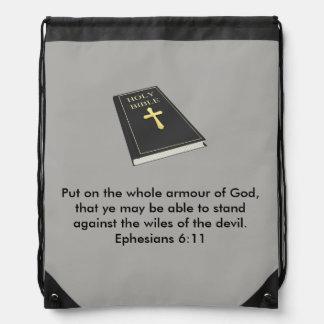 Armure de sac à dos de cordon de Dieu avec la