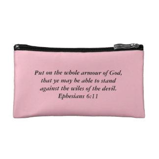 Armure de sac cosmétique de Dieu avec l'armure