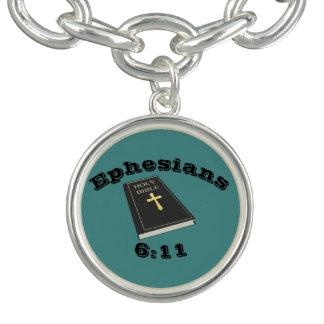 Armure du bracelet w/Bible de charme de Dieu