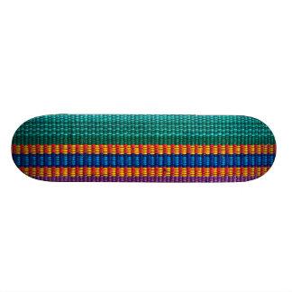 Armure traditionnelle de tissu du Guatemala Plateaux De Skateboards Customisés