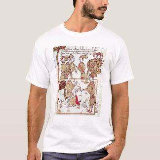 Arpenteur avec ses travailleurs t-shirt