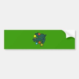 Arrangement de Noël de flower disposition christma Autocollants Pour Voiture