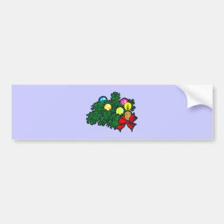 Arrangement de Noël de flower disposition christma Adhésifs Pour Voiture