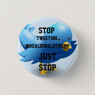 ARRÊT de @realDonaldTrump gazouillant Badges