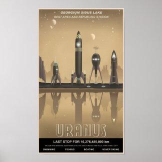 Arrêt de repos d'Uranus Posters