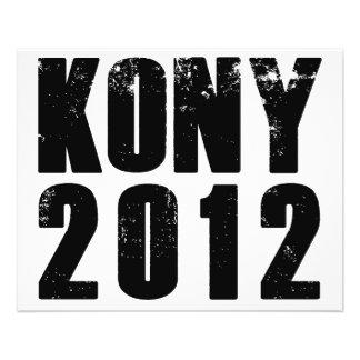 Arrêt Joseph Kony de Kony 2012 Prospectus Personnalisés