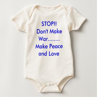 ARRÊT ! ! Ne faites pas la guerre ........ faire Body Pour Bébé