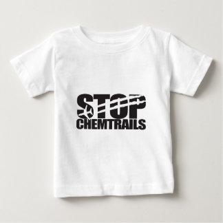 Arrêtez Chemtrails T-shirt Pour Bébé