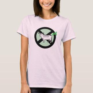 Arrêtez la conspiration de pet de vache ! t-shirt