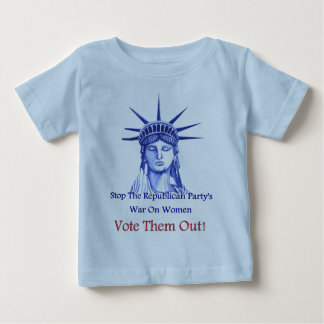 Arrêtez la guerre sur des femmes t-shirt pour bébé