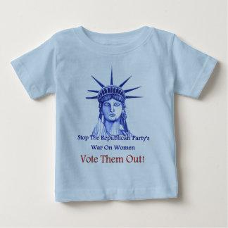 Arrêtez la guerre sur des femmes t-shirts