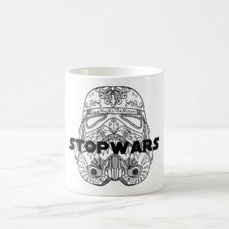 Arrêtez la tasse de guerres