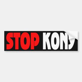 Arrêtez l'adhésif pour pare-chocs de Kony Adhésif Pour Voiture