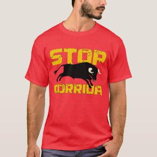 arrêtez le corrida t-shirt