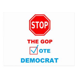 ARRÊTEZ le GOP - carte postale