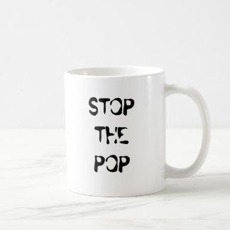 ARRÊTEZ LE POP MUG À CAFÉ
