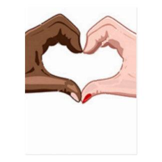 Arrêtez le racisme cartes postales