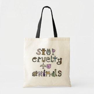 Arrêtez le sac de cruauté