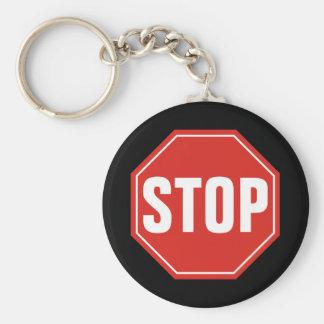 ARRÊTEZ le signe Porte-clés