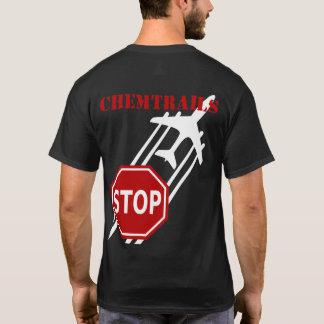 Arrêtez le T-shirt d'obscurité de Chemtrails