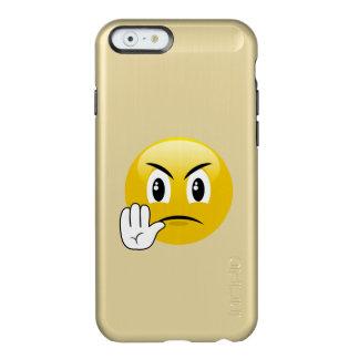Arrêtez les mains Emoji Coque iPhone 6 Incipio Feather® Shine