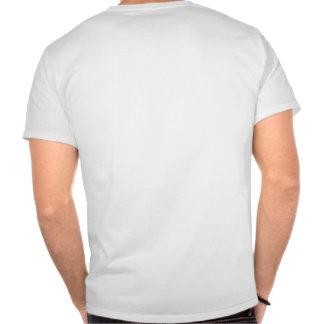 arrière de sonnerie de n de coup t-shirt