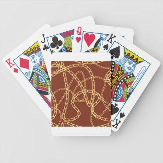 Arrière - plan 2 de chaîne d'or jeu de cartes