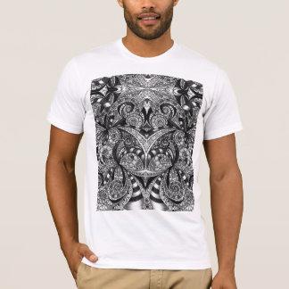 Arrière - plan abstrait floral de T-shirt