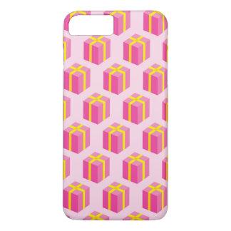 Arrière - plan avec des cadeaux coque iPhone 7 plus