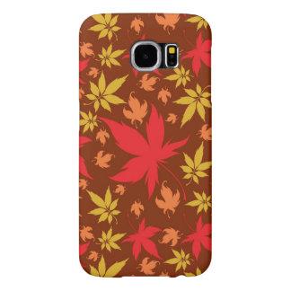 Arrière - plan avec le feuille d'automne coloré
