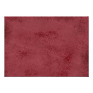 Arrière - plan balayé par rouge invitations personnalisées