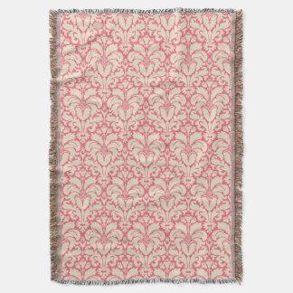 Arrière - plan baroque 2 de damassé de style couvre pied de lit